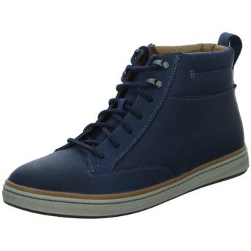 Clarks Sneaker HighNorsen Mid blau