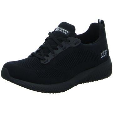 Skechers Sneaker LowBobs Squad Tough schwarz