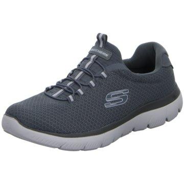 Skechers Sportlicher Schnürschuh grau