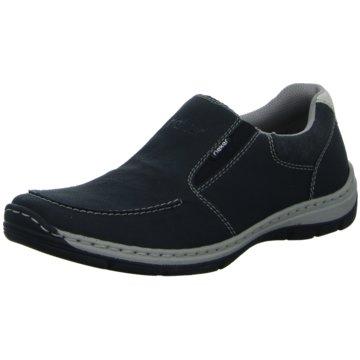 Rieker Sportlicher Schnürschuh schwarz