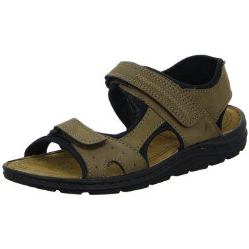 Scarbello Sandale braun