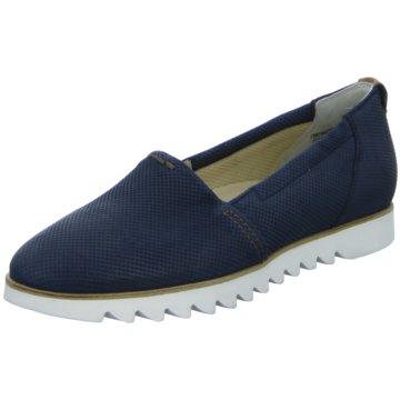 Paul Green Klassischer Slipper blau