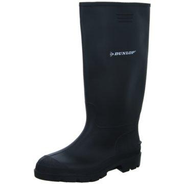 Dunlop Gummistiefel schwarz
