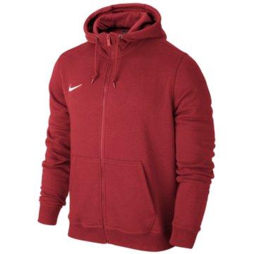 Nike Sweatjacken rot