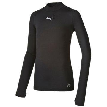 Puma Langarmshirt schwarz