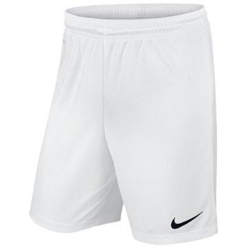 Nike Lange HosenKIDS' NIKE DRY FOOTBALL SHORT - 725988 weiß