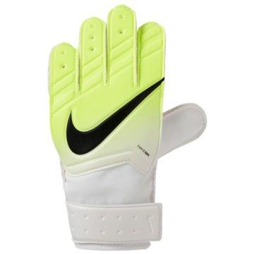 Nike Torwarthandschuhe gelb