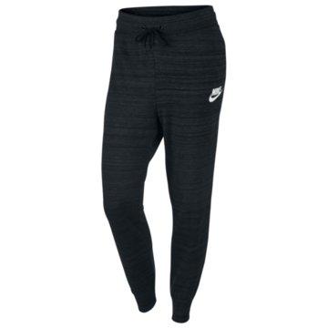 Nike Lange Hosen schwarz