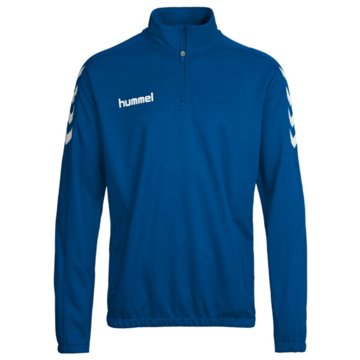 Hummel Pullover blau