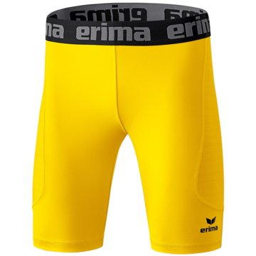 Erima BoxershortsELEMENTAL TIGHT KURZ - 2290708 gelb