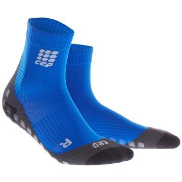 CEP Hohe Socken blau