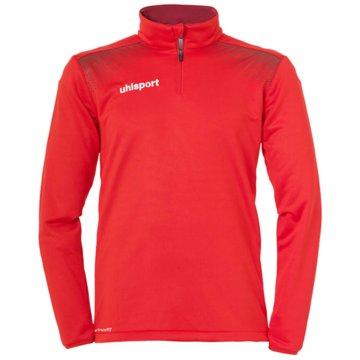 Uhlsport SweaterGOAL 1/4 ZIP TOP - 1005164 rot
