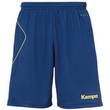 Kempa kurze Sporthosen blau