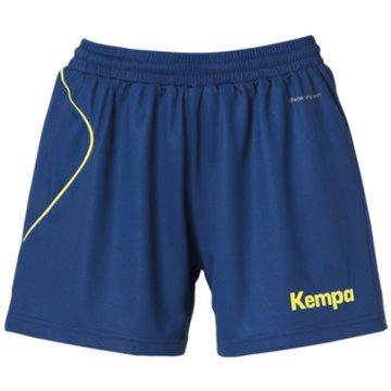 Uhlsport kurze SporthosenCURVE SHORTS WOMEN - 2003068 9 blau