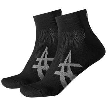 asics Hohe Socken schwarz