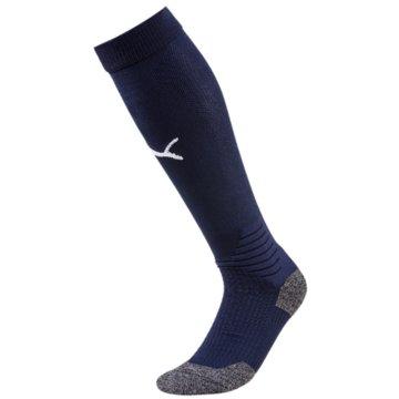 Puma Kniestrümpfe blau
