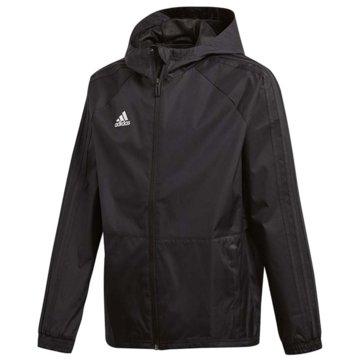 adidas ÜbergangsjackenCON18 RAIN JKTY - BQ6624 schwarz