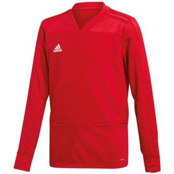adidas SweatshirtsCON18 TR TOP Y - BS0518 rot