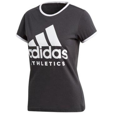 adidas T-ShirtsSport ID Slim Tee Women schwarz