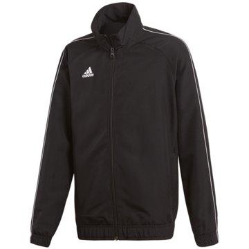 adidas TrainingsjackenCORE18 PRE JKTY - CE9044 schwarz