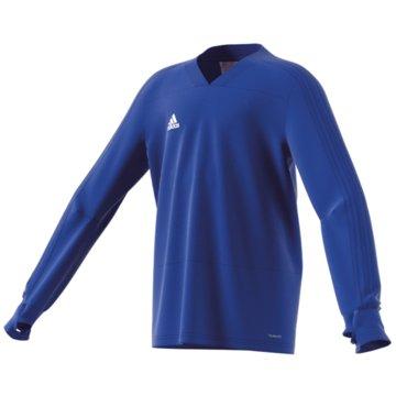 adidas SweatshirtsCON18 TR TOP Y - CG0390 blau