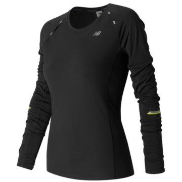 New Balance Langarmshirt schwarz