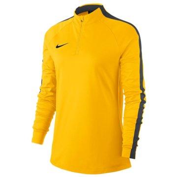 Nike Teamwear & TrikotsätzeWOMEN'S DRY ACADEMY 18 DRILL FOOTBALL TOP - 893710-719 gelb