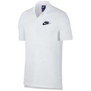 Nike Poloshirts weiß