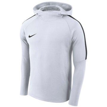 Nike HoodiesBOYS' DRY ACADEMY18 FOOTBALL HOODIE - AJ0109-100 weiß