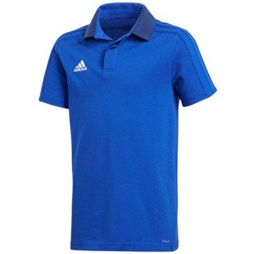 adidas PoloshirtsCON18 CO POLO Y - CF4372 blau