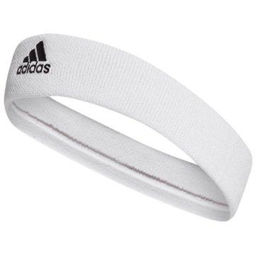 adidas StirnbänderTENNIS STIRNBAND - CF6925 weiß