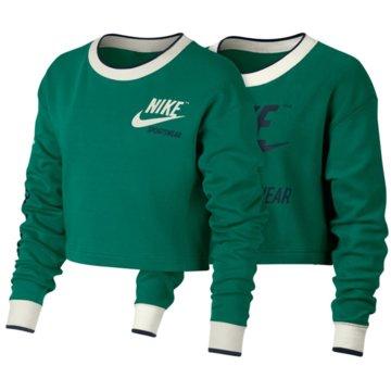 Nike Sweater grün