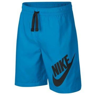 Nike Kurze Sporthosen blau