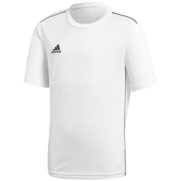 adidas FußballtrikotsCORE 18 TRAININGSTRIKOT - CV3497 weiß