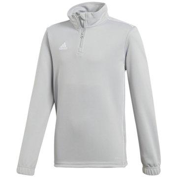 adidas SweatshirtsCORE18 TR TOP Y - CV4142 grau