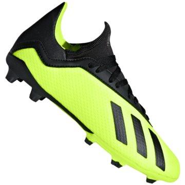 adidas FußballschuhX 18.3 FG Fußballschuhe gelb