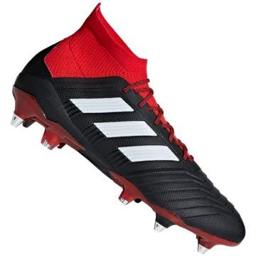 adidas Stollen-SohlePredator 18.1 SG Fußballschuhe schwarz