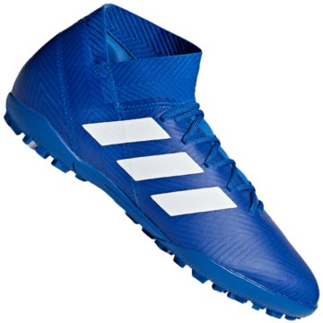 adidas Multinocken-SohleNemeziz Tango 18.3 TF blau