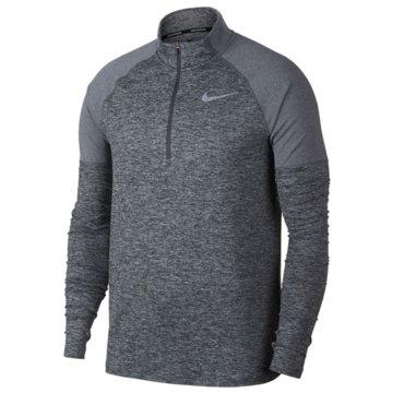 Nike SweaterElement Running Top Halfzip grau