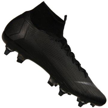 Nike Stollen-SohleMercurial Superfly 6 Elite Anti-Clog SG-Pro schwarz