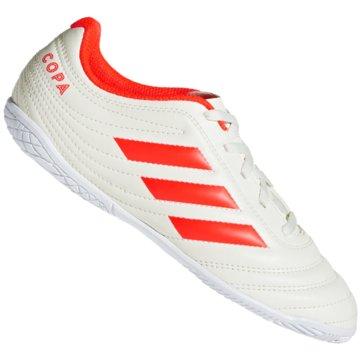 adidas Hallen-SohleCopa 19.4 IN Fußballschuh - D98094 weiß