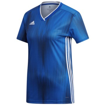 adidas FußballtrikotsTIRO 19 JSY W - DP3185 blau