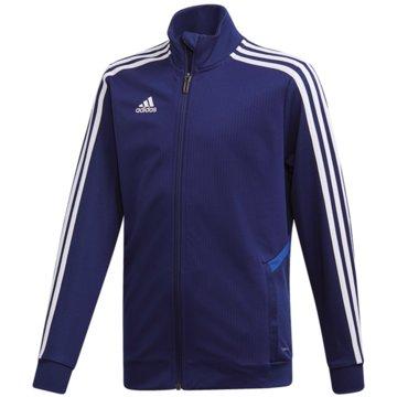 adidas TrainingsjackenTIRO19 TR JKTY - DT5275 blau