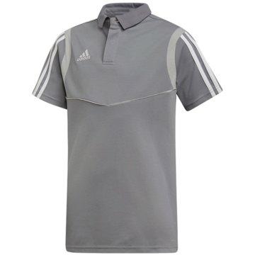 adidas PoloshirtsTIRO19 CO POLOY - DW4737 grau