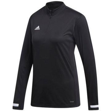 adidas FußballtrikotsT19 1/4 LS W - DW6851 schwarz