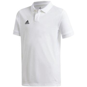 adidas PoloshirtsT19 POLO YB - DW6875 weiß