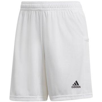 adidas FußballshortsT19 KN SHO W - DW6883 weiß