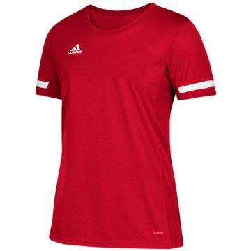 adidas FußballtrikotsT19 SS JSYYB - DX7252 rot