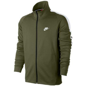 Nike Übergangsjacken grün