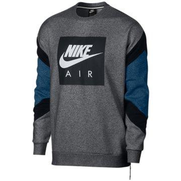 Nike SweaterAir Fleece Crew grau